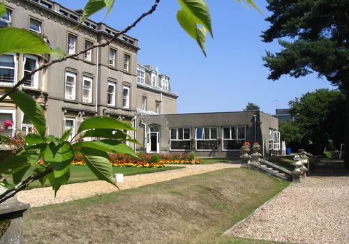 Parte trasera Bournemouth Collegiate School
