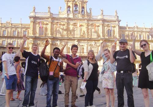 Explorando la ciudad de Salamanca