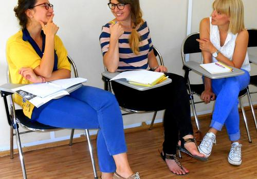 Francés para los negocios (grupo reducido de 3 estudiantes)