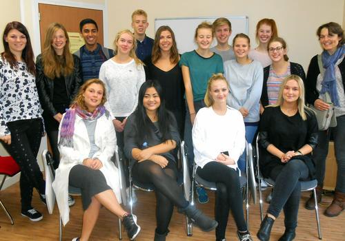 Estudiantes de un curso intensivo en ACCORD Paris
