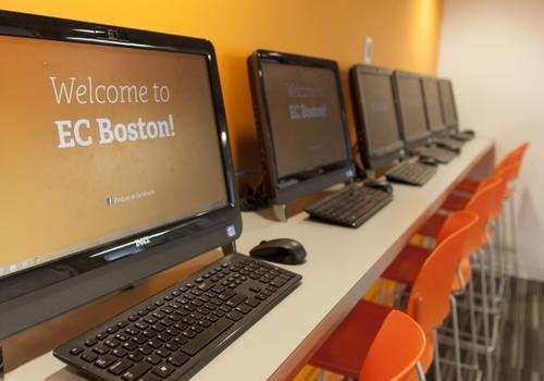 Sala de ordenadores EC Boston