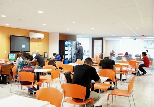 Sala de estudiantes EC Boston