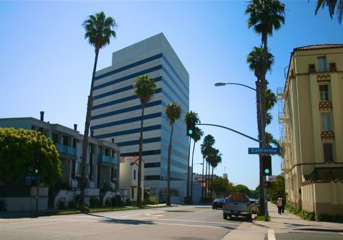 Vista de la calle EC LA